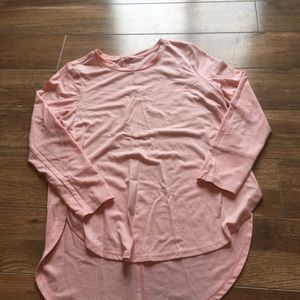 Old Navy pinky peach 3/4 sleeve